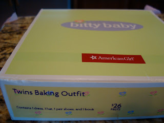 Twins Baking Outfit in box