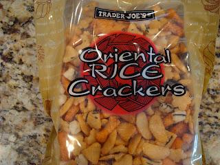 Trader Joe's Oriental Rice Crackers in package