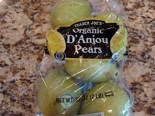 Bag of D'Anjou Pears