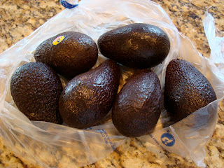 Bag of Avocados