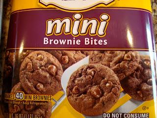 Package of Mini Brownie Bites