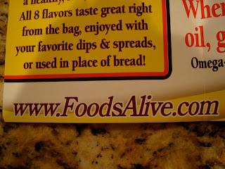 Foods Alive website