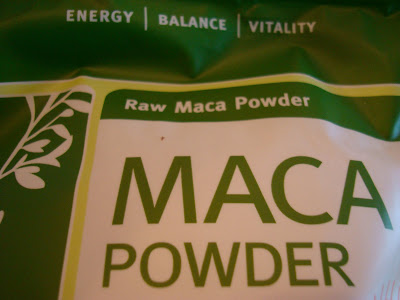 Bag of Maca Powder