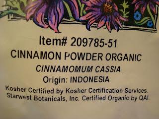 Cinnamon from VitaCost