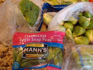 Various vegetables on countertop