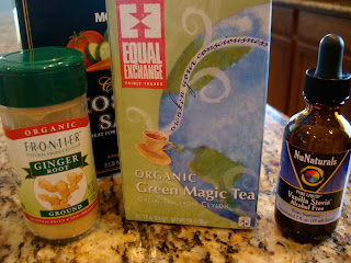 Ingredients for Coconut Water Natural Sports Drink Recipe