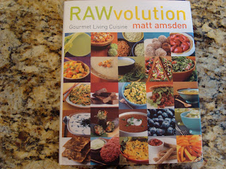 RawVolution by Matt Amsden cookbook