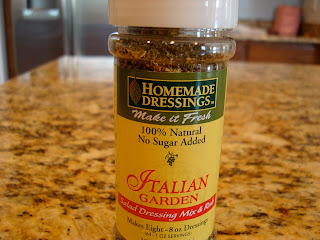 Italian Garden Dressing mix from Homemade Dressings