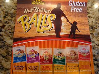 Box of various Nut Butter Balls