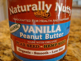 Jar of Vanilla Peanut Butter