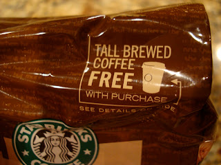 Offer for Tall Brewed Coffee Free with Purchase on bag of coffee