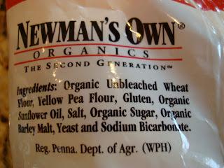 Ingredients in Protein Pretzels