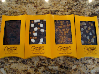 4 packages of Chocomize chocolates