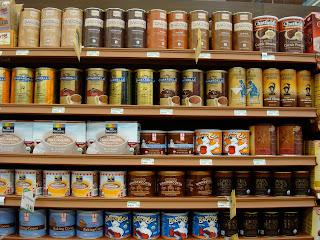 Shelves of Chocolate: Cocoa & Carob Powders