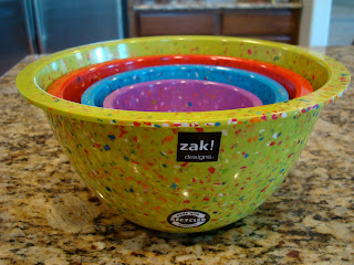 Zak Nesting Bowls in multiple colors