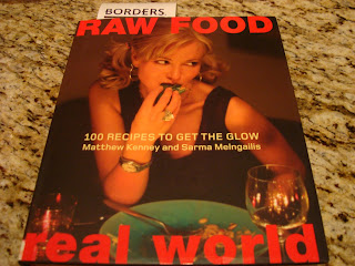 Raw Food Real World cookbook