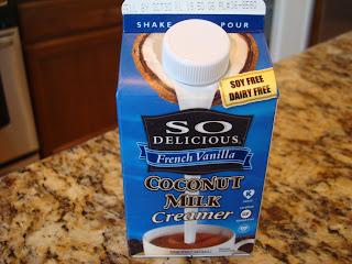 So Delicious French Vanilla Coconut Milk Creamer container