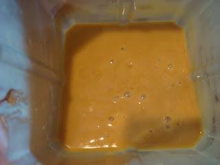 Blended up Thai-Inspired Peanut Sauce in blender