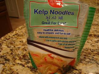 Kelp Noodles in package
