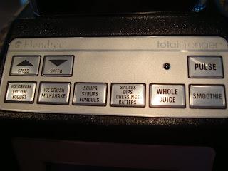 Blender buttons
