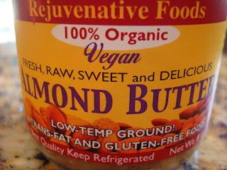 Container of Rejuvenate Foods Vegan Almond Butter