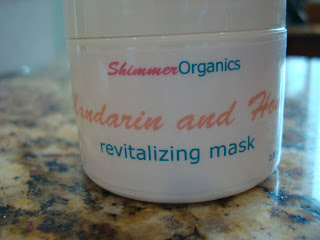 Shimmer Organics Mandarin & Honey Revitalizing Face Mask