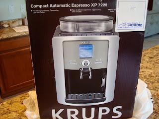 Espresso maker box