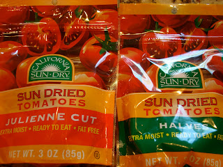 Two bags of Sun Dried Tomatoes