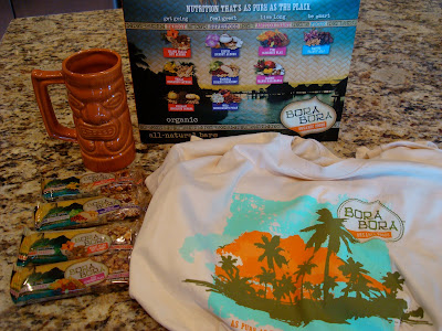 Various Bora Bora Products on countertop