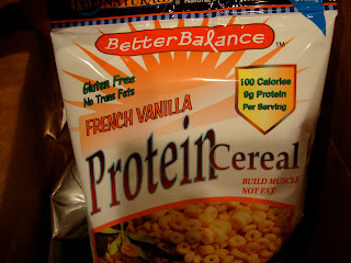 Package of French Vanilla Protein Cereal
