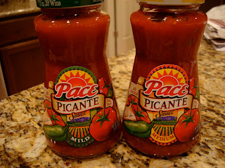 Two jars of Pace Picante Sauce