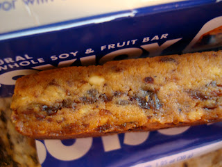 Close up of one fruit bar