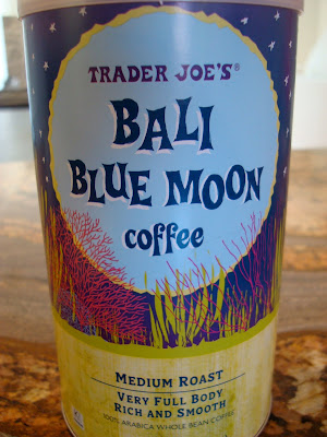 Container of Bali Blue Moon Coffee