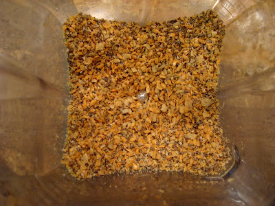 Chia, Flax and Sunflower Seeds blended up