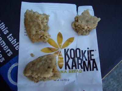Kookie Karma Banana Bread in pieces