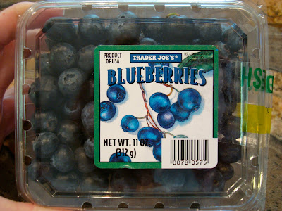 Container of Blueberries