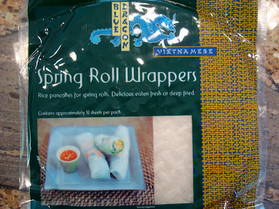 Package of Spring Roll Wrappers