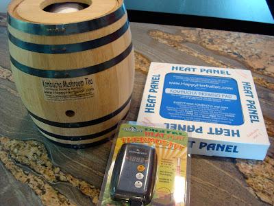 Oak Barrel and Heat Panel