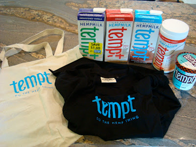 Tempt Products on countertop