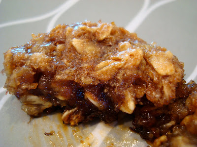 Vegan Gluten Free Cinnamon Raisin Banana Oatmeal Muffins up close on plate