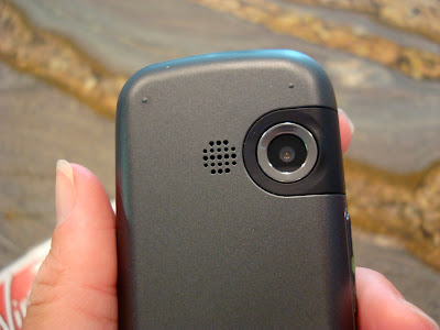 Back of phone showing camera