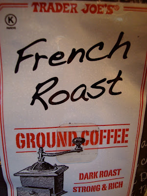 Close up of French Roast Coffee