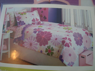 Close up of what bedding set looks like