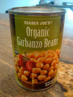Organic Garbanzo Beans in can