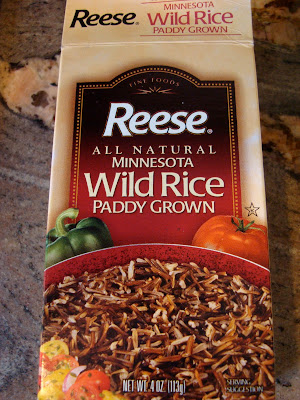 Close up of Wild Rice Package