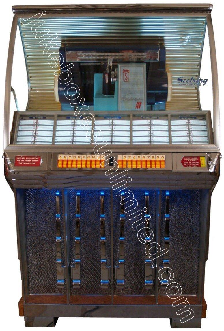 Seeburg Jukebox Value 1954 Seeburg Model r Jukebox