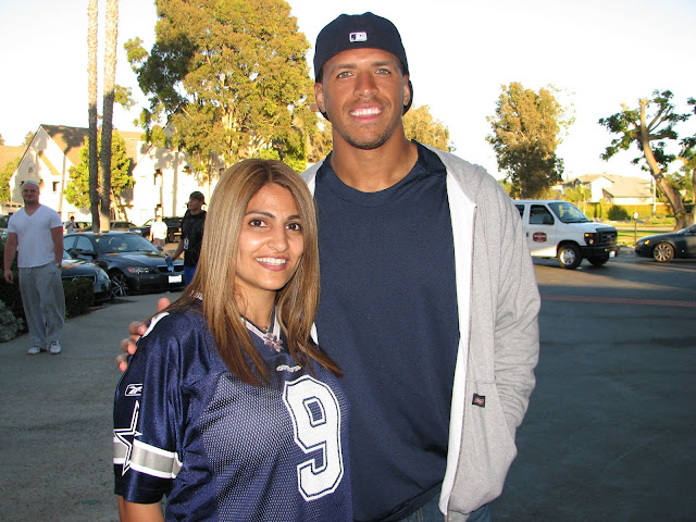 Miles Austin meets fans at at Oxnard Training camp