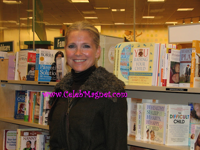 Melissa Reeves arrives at Days of Our Lives Cast book signing party