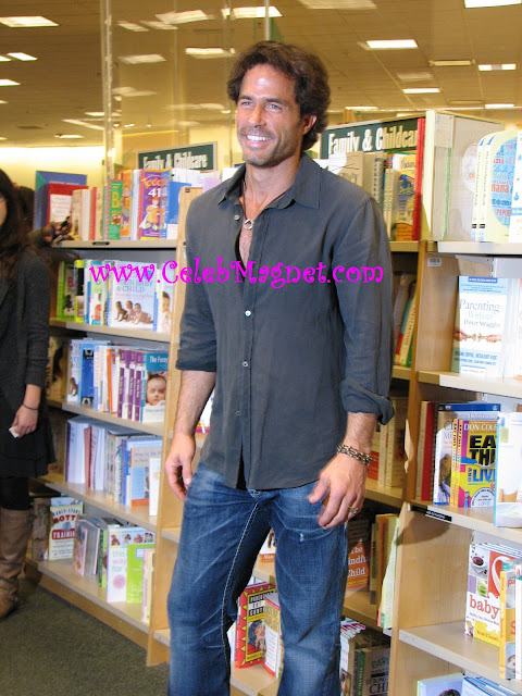 Shawn Christian arrives at Days of Our Lives Cast book signing party