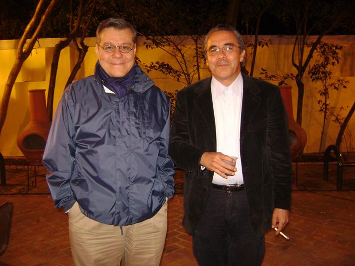 El Doctor Alfonso Alfaro y Alfonso Islas